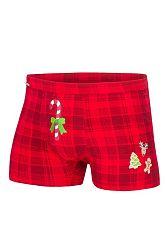 Červené boxerky Candy Cane