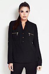 Čierna košeľa A51