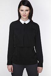 Čierna košeľa ABK0059