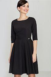 Čierne šaty K219