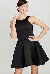 Čierne šaty K265