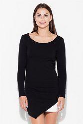 Čierne šaty K284