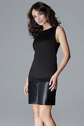 Čierne šaty L025