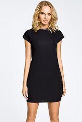 Čierne šaty MOE 028