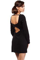 Čierne šaty MOE 187