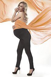 Čierne tehotenské legíny Stefanie 200DEN