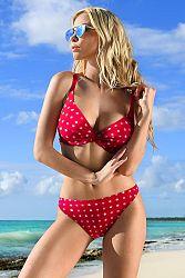 Dámske dvojdielne plavky July Red