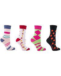 Dámske viacfarebné ponožky Box - darčekové balenie