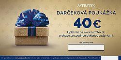 Darčeková poukážka 40 EUR