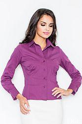 Košeľa M021 fialová