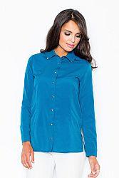 Košeľa M212 modrá