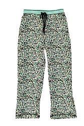 Mätovo-béžové pyžamové nohavice Double Fun