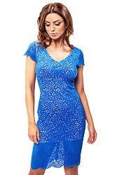 Modré šaty 190042