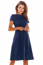 Modré šaty A282
