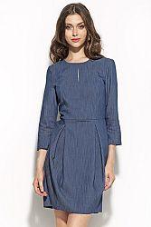 Modré šaty S59