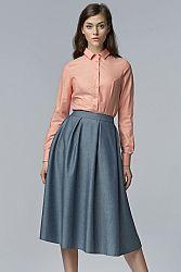 Modro-sivá sukňa SP27