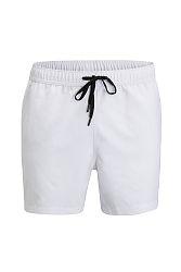 Pánske biele plavkové bermudy Salem Swim Shorts