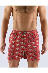 Pánske červené boxerky 75117