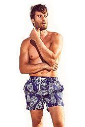 Pánske kúpacie šortky DAVID52 Pineapple Caicco