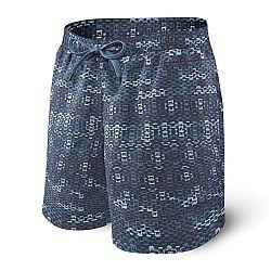 Pánske kúpacie šortky SAXX Blue Waterfall