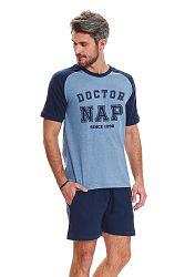 Pánske modré pyžamo PMB9473