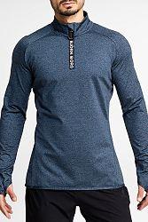 Pánske sivo-modré tričko Alve Half Zip Polo