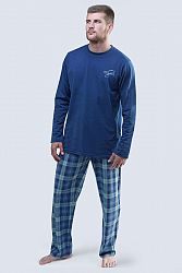 Pánske tmavomodré pyžamo 79043P
