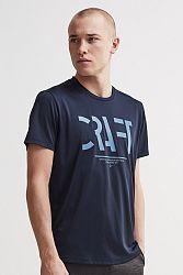 Pánske tričko CRAFT Eaze Mesh tmavomodré