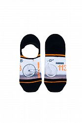 Pánske viacfarebné členkové ponožky Fixed Gear