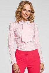 Ružová košeľa MOE 089
