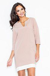 Ružové šaty M333