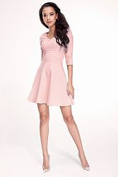 Ružové šaty MQ02