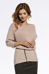 Ružový pulóver 220035