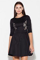 Šaty K068 čierna