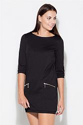 Šaty K087 čierna