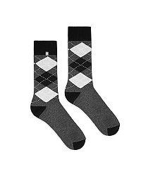 Sivé ponožky Diamonds