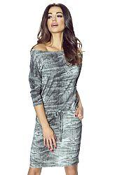 Sivé šaty Varsovia