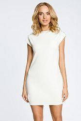 Smotanové šaty MOE 028