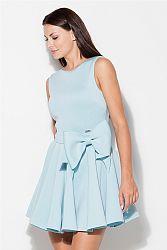 Svetlomodré šaty K271