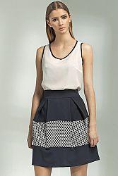 Tmavomodrá sukňa SP20