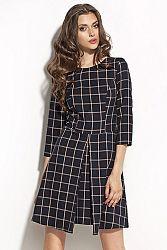 Tmavomodré šaty S55