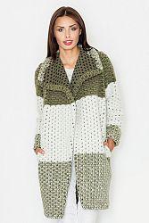 Tmavozelený sveter M507