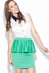 Zelená sukňa K024