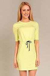 Žlté šaty G14