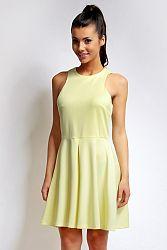 Žlté šaty NA73