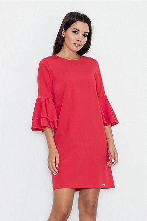 Červené šaty M564