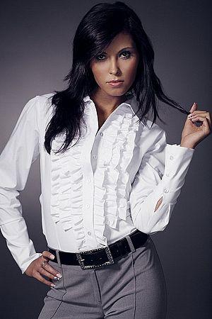 Košeľa K01 biela
