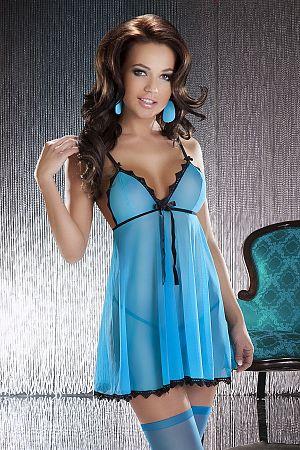 Košieľka Livia modrá