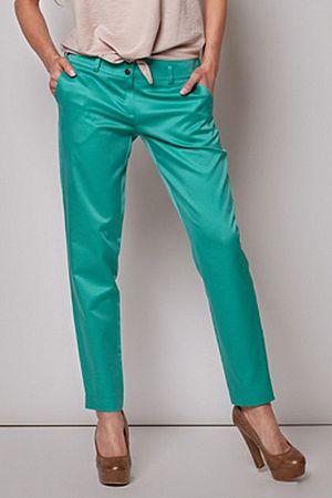 Nohavice M199 zelená