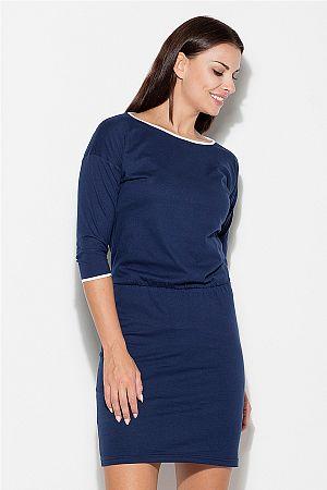 Šaty K105 modrá